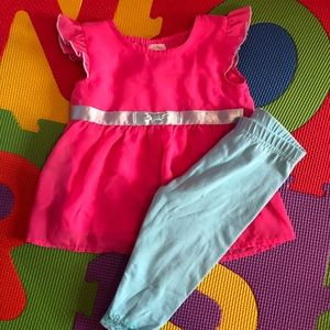 Other - Cute baby girl top and pant
